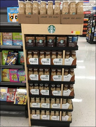 Starbucks Endcap Cooler Display 2