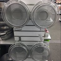Strainer and Colander Slatwall Display Solution
