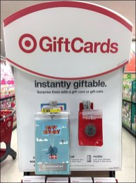 Target Gift Coin Gift Card Scan Hook 1