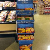 Tostitos Super Bowl Dipetizers Corrugated Display