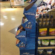 Tostitos Super Bowl Dipetizers Corrugated Display 3