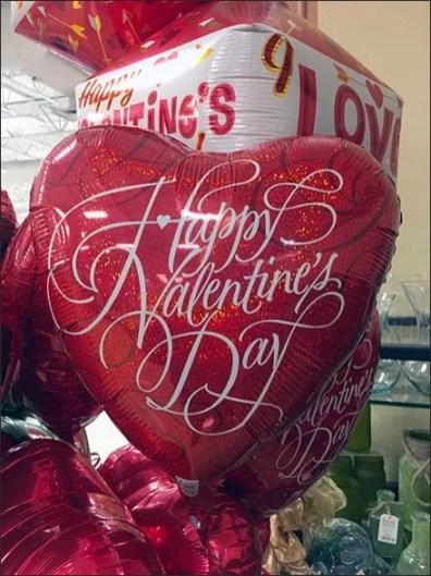 Valentines Day Balloon Corrugated Anchorage Pedestal