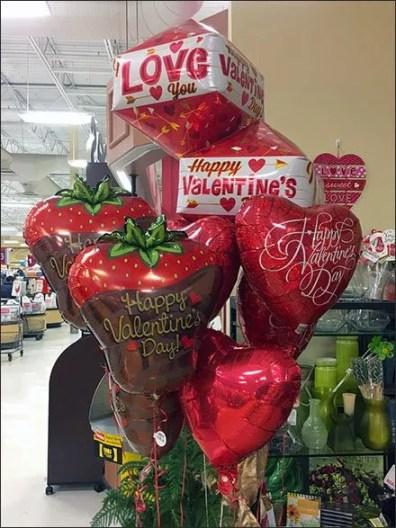 Valentines Day Balloon Sales 2