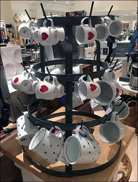 Williams Sonoma Valentine's-Day-Mug Carousel