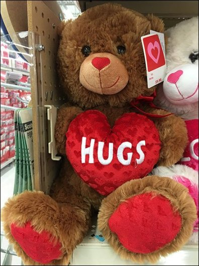 Valentines Day Plush Shelf Merchandising 2