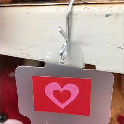 Strip Merchandising Valentines Day