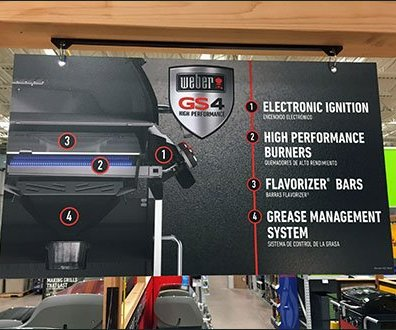 Weber Grills Genesis II Display 2