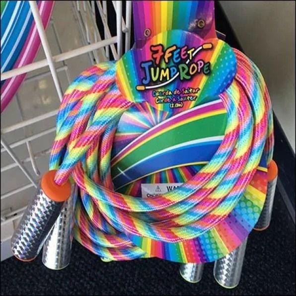 Jump Rope Strip Merchandiser