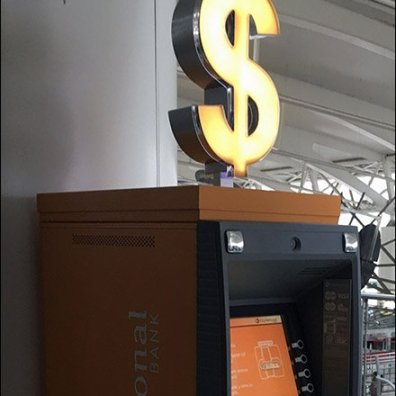 ATM or Lotto Machine at JFk 2