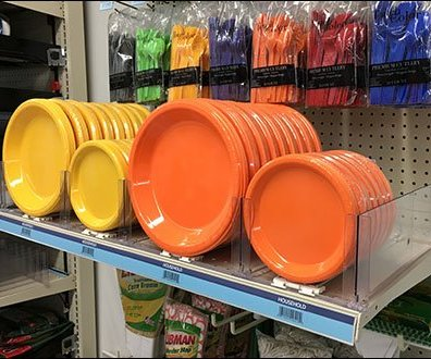 Acrylic Auto Feed Dividers & Pushers For Tableware