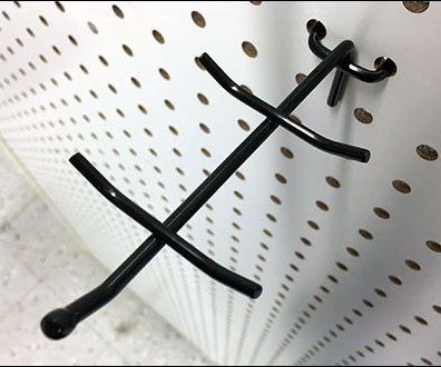 Boxer Display Hooks For Pegboard
