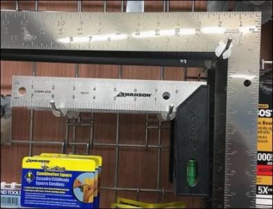 Carpenter Square Grid Hook With ICC 3