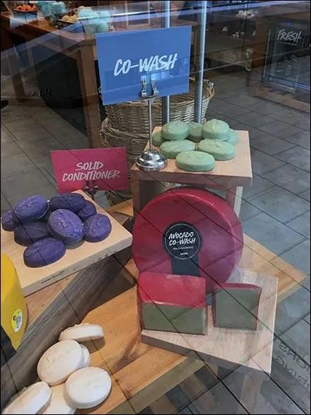 Cheese Wheel Soap Visual Merchandising 3