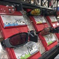 Diamond Plate Sunglass Display 2