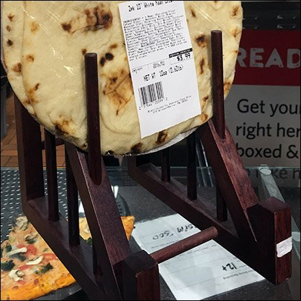 Dish Displayer Double-Duty Pizza Merchandiser