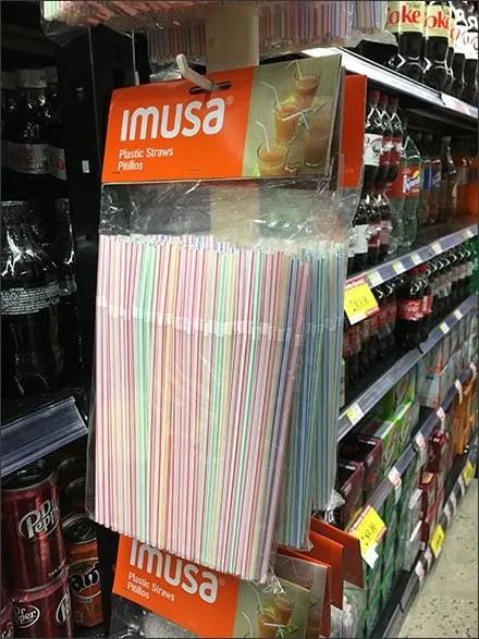 Drinking Straw Strip Merchandiser Cross Sell