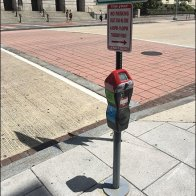 Handicapped Height Parking Meter 2
