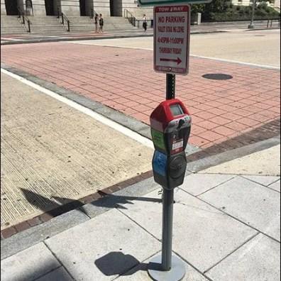 Handicapped Height Parking Meter 2