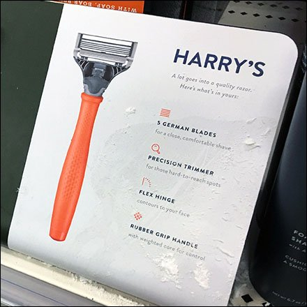 Harry's Razors Retail Fixtures