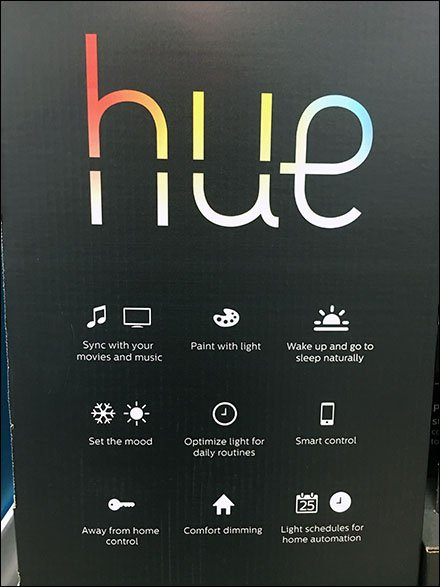 Hue Lighting Feature Symbols Abbreviated