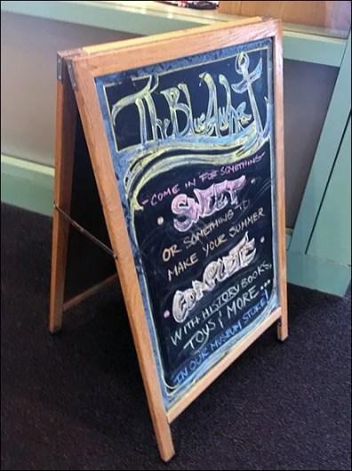 Blue Anchor Gift Shop Chalkboard Sign Trolls For Customers