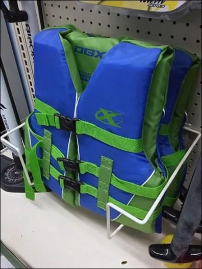 Literature Holder Frame Holder Life Vest Rack 3