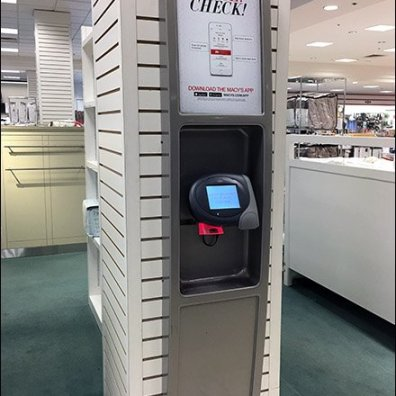 Macys Price Check Station 2