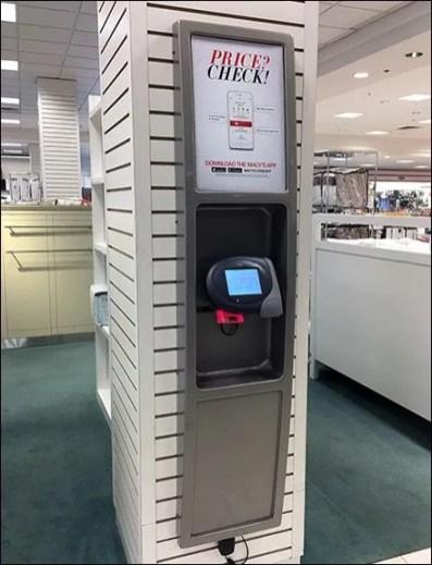Macys Price Check Station 2