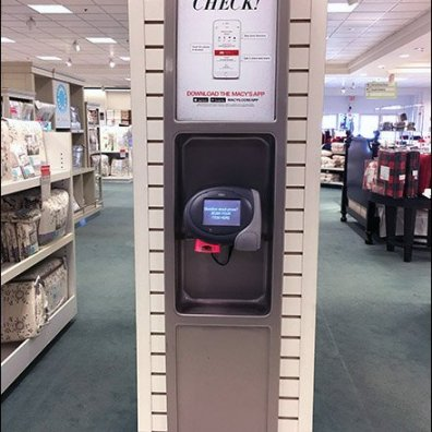 Macys Price Check Station 3