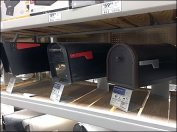 Shelf-Top Mailbox Kickstand Display