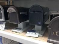 Shelf-Top Mailbox Post Display