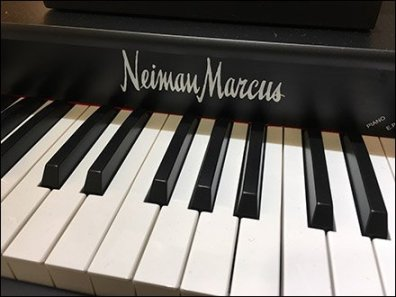 Neiman Marcus Baby Grand Piano for Boys