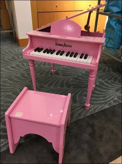 Neiman Marcus Baby Grand Piano for Girls