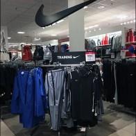 Nike Ceiling Swoop Branding in Training