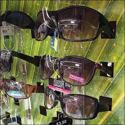 panama jack sunglasses  One-Eyed Panama Jack Sunglasses Pallet Display \u2013 Fixtures Close Up