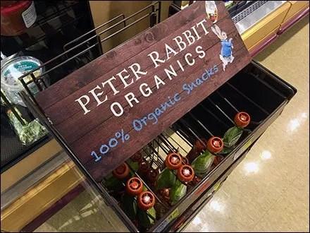 Peter Rabbit Organics Pouch Hook Rack