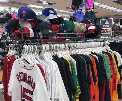 Rack-Top Rectangular Bin for Baseball Caps