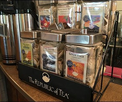 Republic of Tea Rack