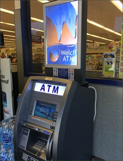 Rite Aid Welch Entry ATM 2