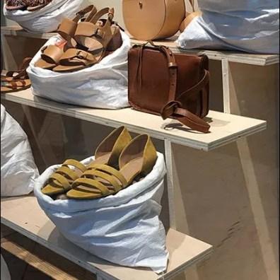 Sandals Sold In Sacks Visual Merchandising 2