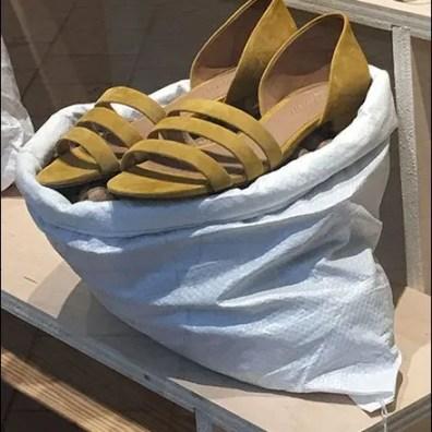 Sandals Sold In Sacks Visual Merchandising 3