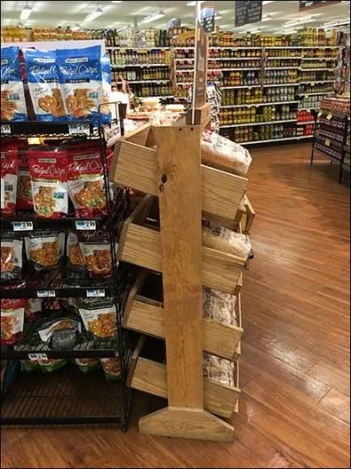 SaraLee Artesano Bread Declined Wood Rack 2