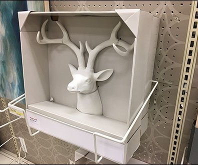 Stag Head Trophy Literature Holder 3