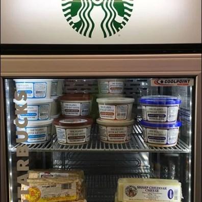 StarBucks Cooler Repurposing for Cheese