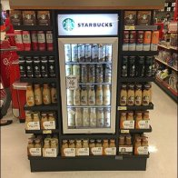 Starbucks Permanent Refrigerated Endcap 3a