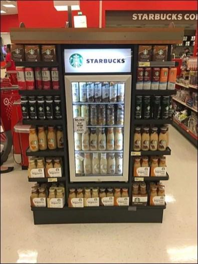 Starbucks Permanent Refrigerated Endcap 3a