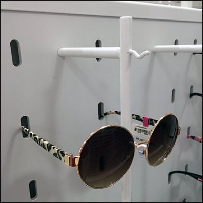Sunglass Nose Hook Full Gondola Display
