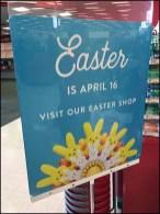 Unbranded Shop Easter Sign Stand At Target