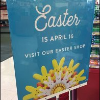 Unbranded Shop Easter Sign Stand At Target