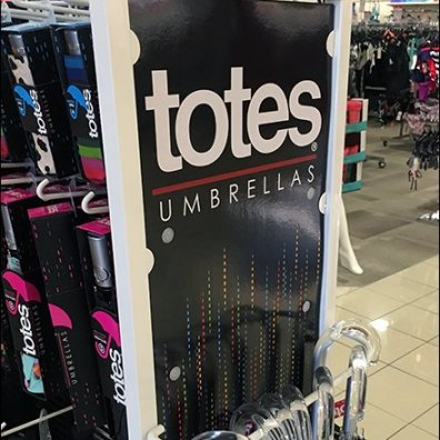 Totes Two-Way Umbrella Stand Is Four-Sided